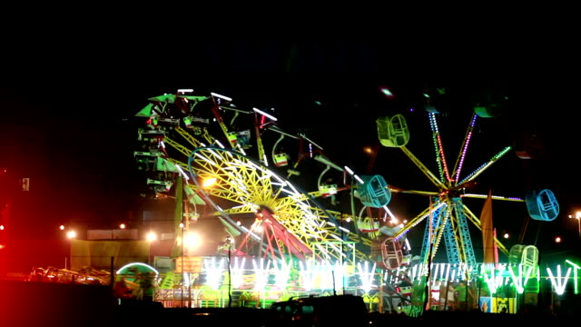 Fair at night in delhi video