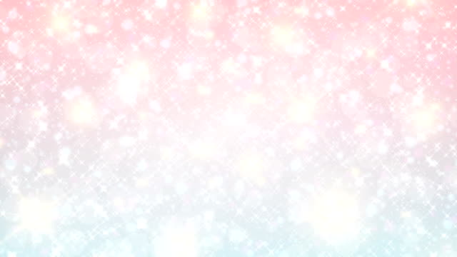 fairy white abstract christmas  background and pastel color.the unicorn in pastel sky with rainbow. pastel clouds and sky with bokeh . cute bright candy background . fantasy animation backgrroun - kawaii video stock e b–roll