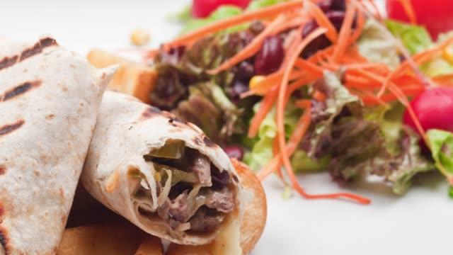 Fajita Wrap Sandwich - Burrito
