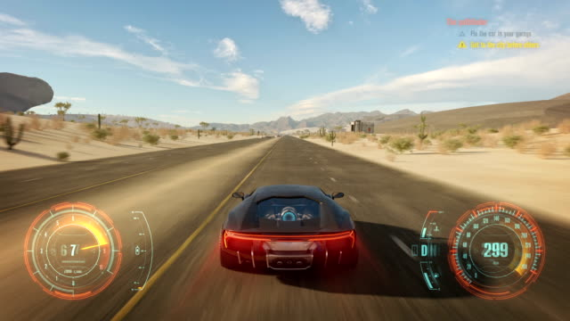 Fake 3D video game. Cyber race gameplay running across the desert The Most Anticipated Video game. 3D fake video game video game stock videos & royalty-free footage