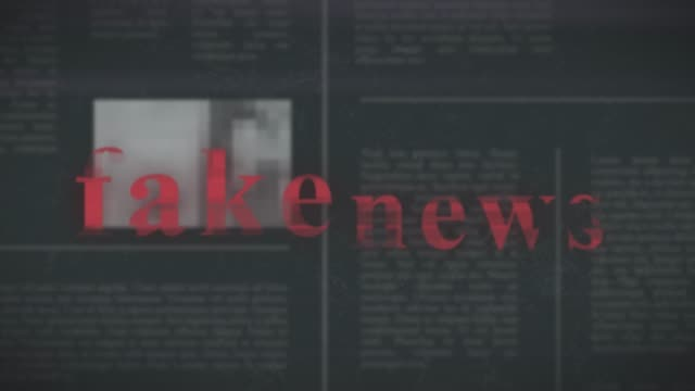fake news concept - politica e governo video stock e b–roll