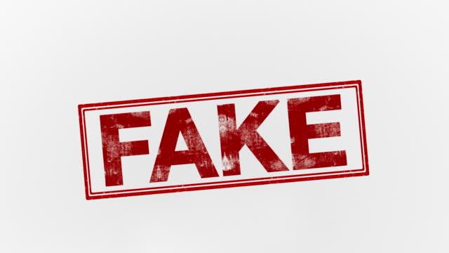 가짜 - stamp 스톡 비디오 및 b-롤 화면