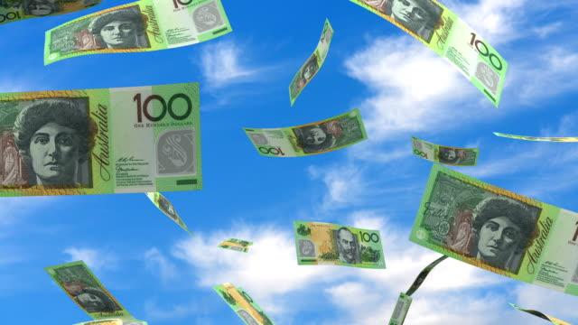 Falling Australian Dollar video