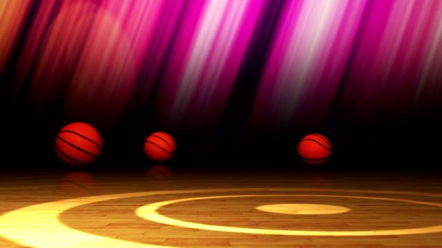Falling Basket Ball and Final News Text video