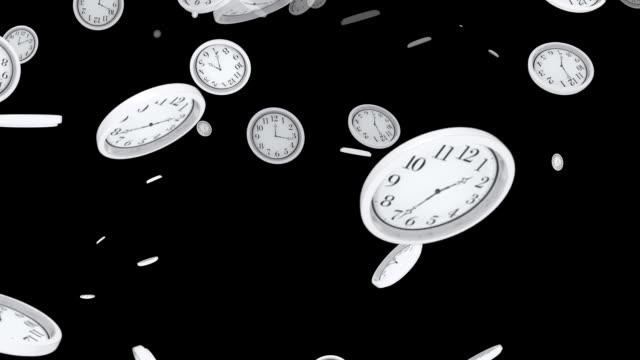 Falling Clocks video