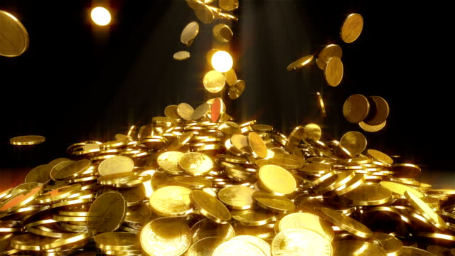 HD: Falling coins