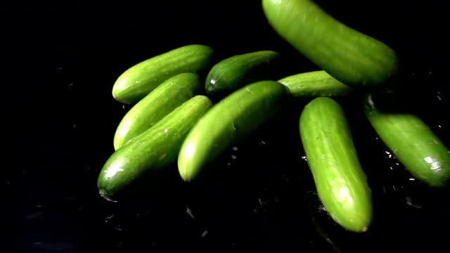 Falling Cucumbers video