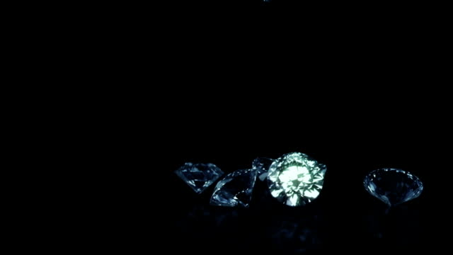 Falling Diamonds Blue video