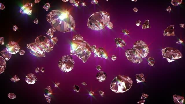 HD: Falling diamonds video