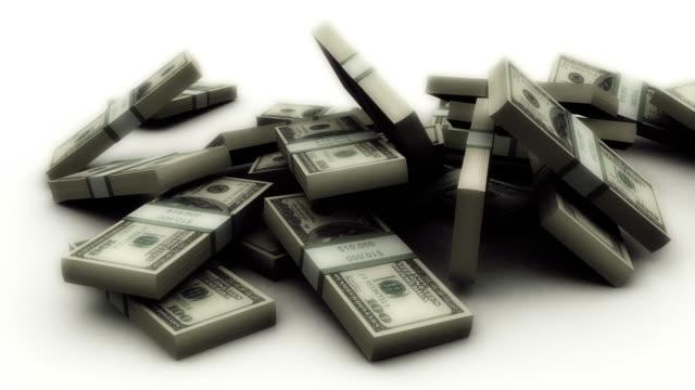 Falling Dollar Stack video