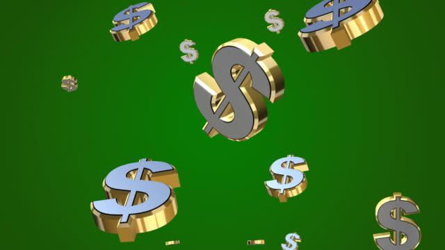 Falling Dollars 3D