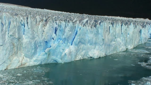 Falling Ice Pieces HD video