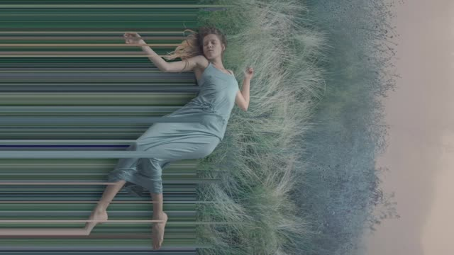 falling into a dreams - onirico video stock e b–roll