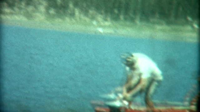 Falling Into Lake 1950 video