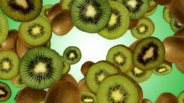 fallande kiwi bakgrund - kiwifrukt bildbanksvideor och videomaterial från bakom kulisserna