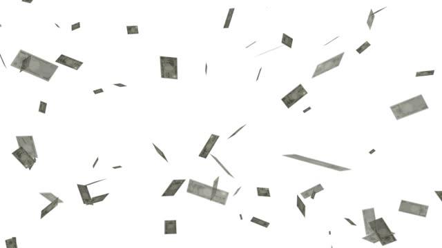 落下金 - 紙幣点の映像素材/bロール