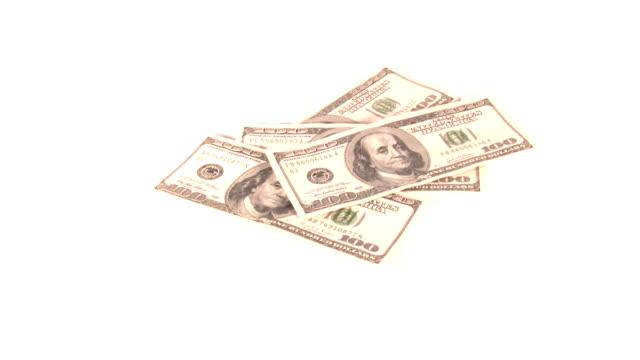 falling money video