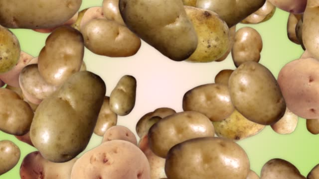 Falling Potato Background, with Alpha Channel, Loop Falling Potato Background, with Alpha Channel, Loop, 4k prepared potato stock videos & royalty-free footage