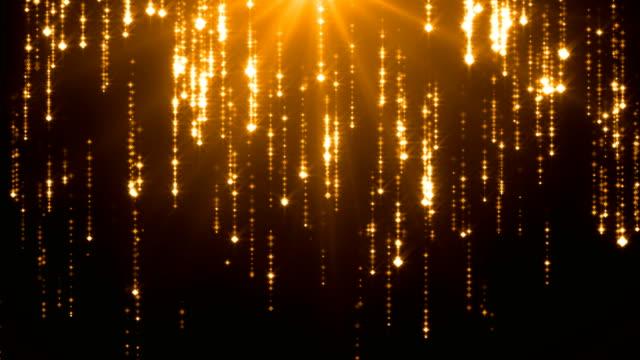 fallande stjärnor - 4k loopable bakgrund (m) - led ljus bildbanksvideor och videomaterial från bakom kulisserna