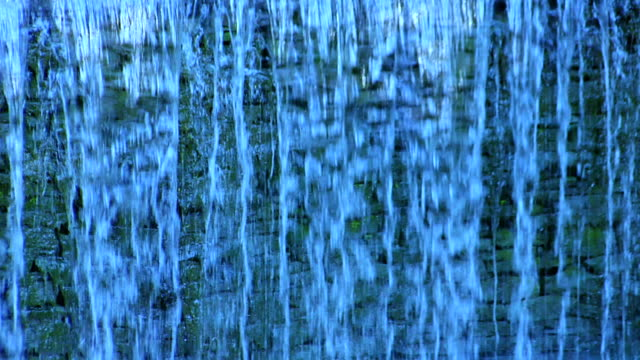 Falling Water Texture HD - slow motion video