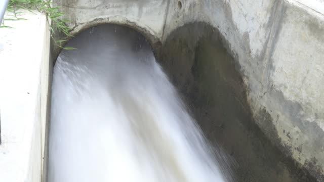 Falling Water Falling Water haryana stock videos & royalty-free footage