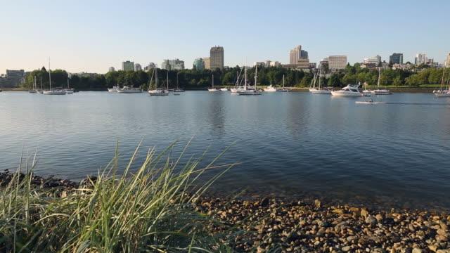 False Creek Morning Workout, Anchored Boats video