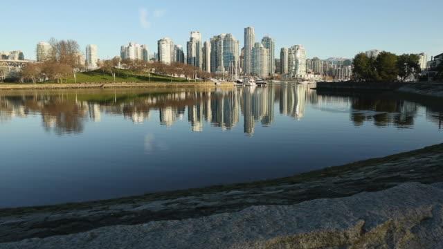 False Creek Vancouver, Winter Morning video