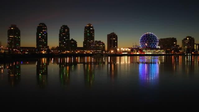 False Creek Winter Twilight Reflections, Vancouver video