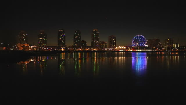 False Creek Winter Twilight, Vancouver Morning video