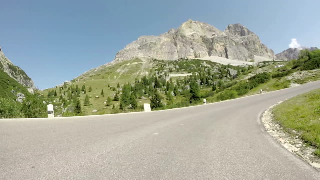 Falzarego Mountain Pass, Dolomites, Italy video