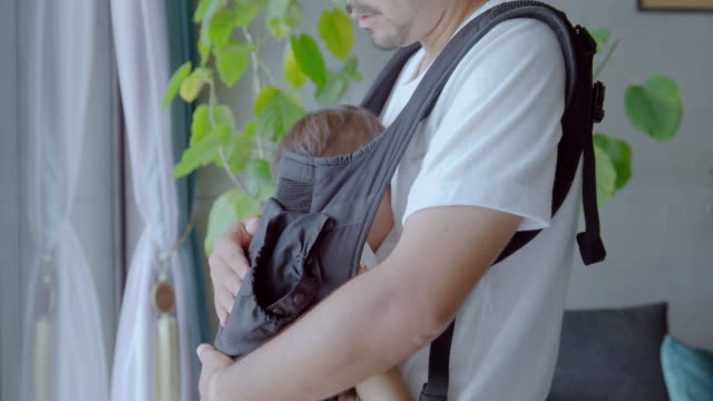 family at home. father and daughter. - padre single video stock e b–roll