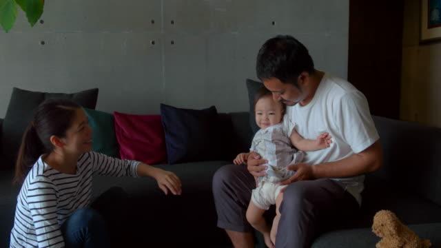 ご自宅のご家族  - 若者文化点の映像素材/bロール