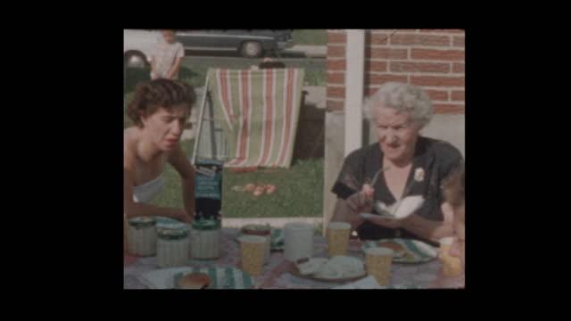 1956 Family BBQ