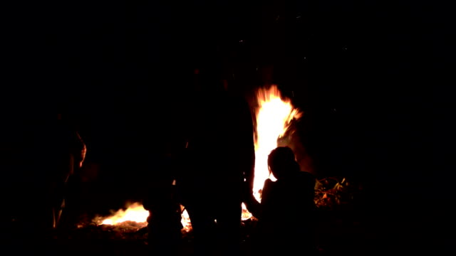 Family Bonfire Night video