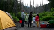 istock Family camping and bonding in nature 1248312569