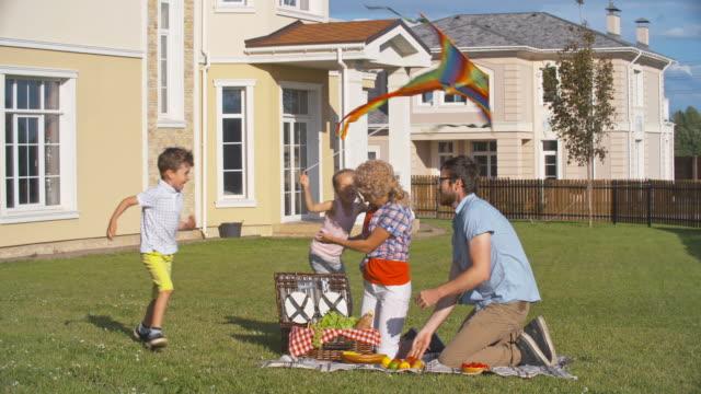 Family Enjoying Summer Weekend video