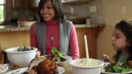 istock Family having dinner together 146203453
