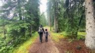 istock Family Hiking on Rainy Day, Jasper, Canada 1281520423