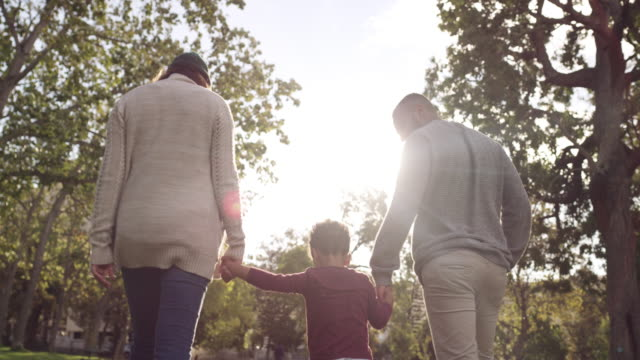 Family is everything 4k video footage of a happy couple spending time at the park with their son brightly lit stock videos & royalty-free footage