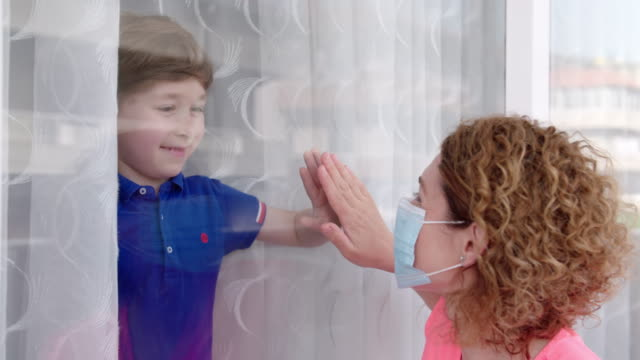 Family members seeing each other during COVID-19 pandemic video