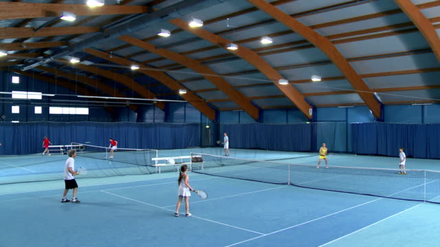 CS WS Family Playing Mixed Doubles video