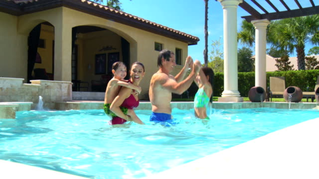 Family Pool Lifestyle video
