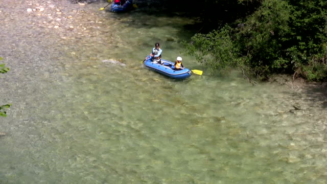 Family rafting video