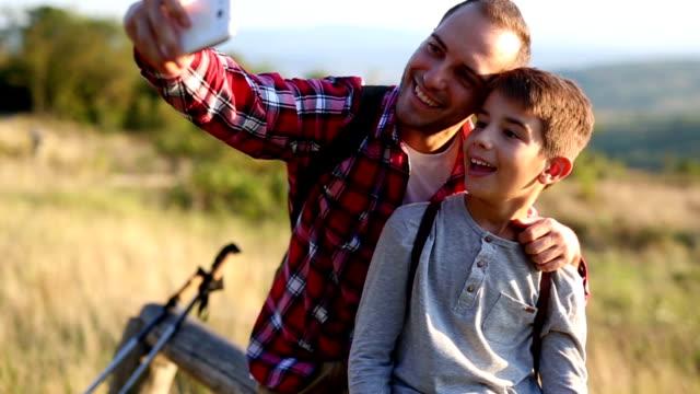 Family selfie video