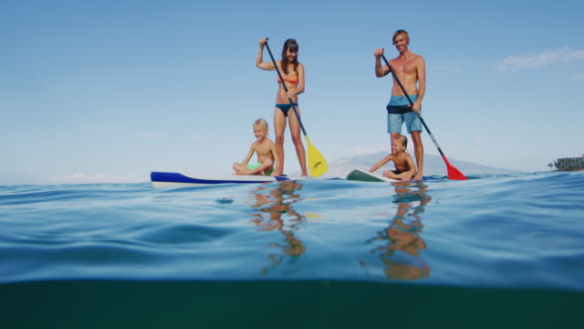 Family Stand Up Paddle Boarding video