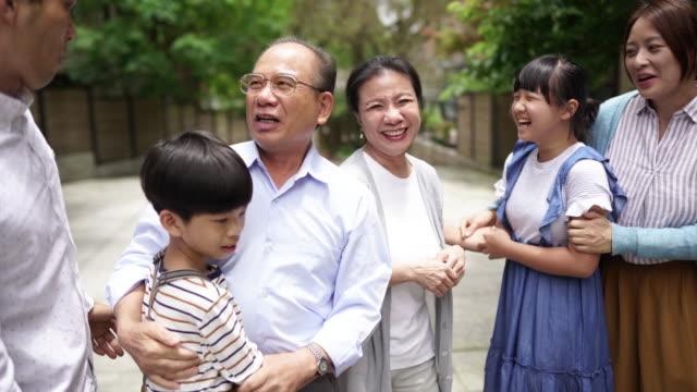 family ties - reunion stock videos & royalty-free footage