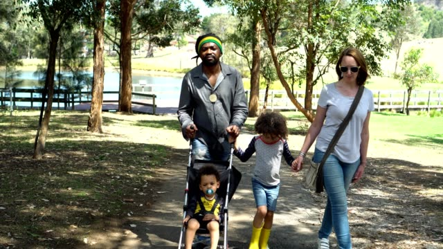 Family visited an organic farm Family with two children visited an organic farm. locs hairstyle stock videos & royalty-free footage