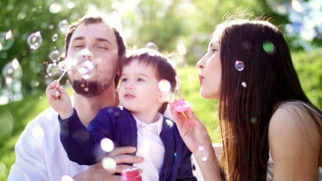 ご家族での散策をお楽しみいただけます。 - ピクニック点の映像素材/bロール
