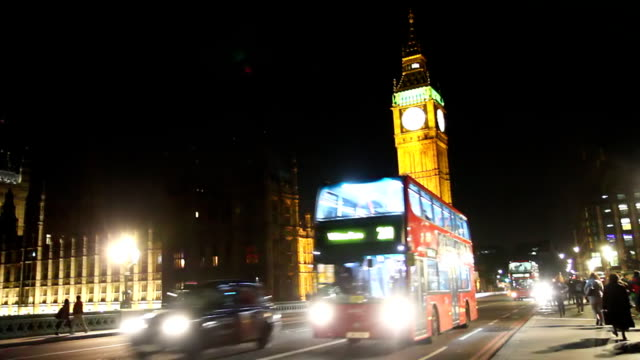 HD: Famous Big Ben At Night video