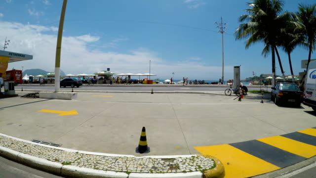 有名なコパカバーナビーチ - コパカバーナ海岸点の映像素材/bロール